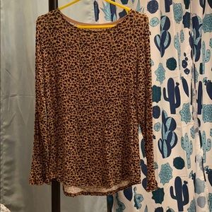 Maurices Leopard Top